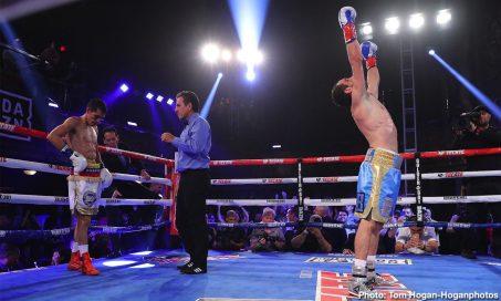 Azat Hovhannisyan Franklin Manzanilla Boxing News Boxing Results