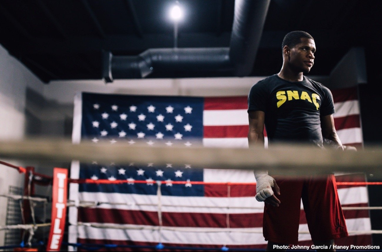 Devin Haney, Zaur Abdullaev - Devin Haney is thrilled to have the chance to land the WBC Interim World Lightweight title when he faces Zaur Abdullaev at the Hulu Theater at Madison Square Garden in New York on Friday September 13, live on DAZN in the US and on Sky Sports in the UK.