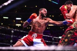 "Anthony Dirrell, David Benavidez, John Molina jr., Josesito Lopez - David  Benavidez (22-0, 19 KOs) regained the WBC Super Middleweight World Championship from two-time champion Anthony ""The Dog"" Dirrell (33-2-1, 24 KOs) with a ninth-round TKO victory."