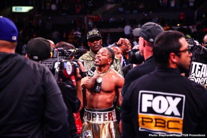Errol Spence, Shawn Porter - Boxing News