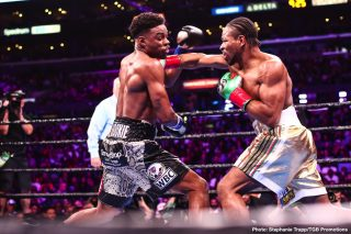 """Errol Spence - Danny Garcia's dad/trainer Angel Garcia says IBF/WBC welterweight champion Errol Spence Jr. isn't the great fighter that a lot of boxing fans thought he was. Angel says a lot of the fighters that people think are good are actually guys that were """"pampered"""" with soft match-making, and they were never put in a real test."""