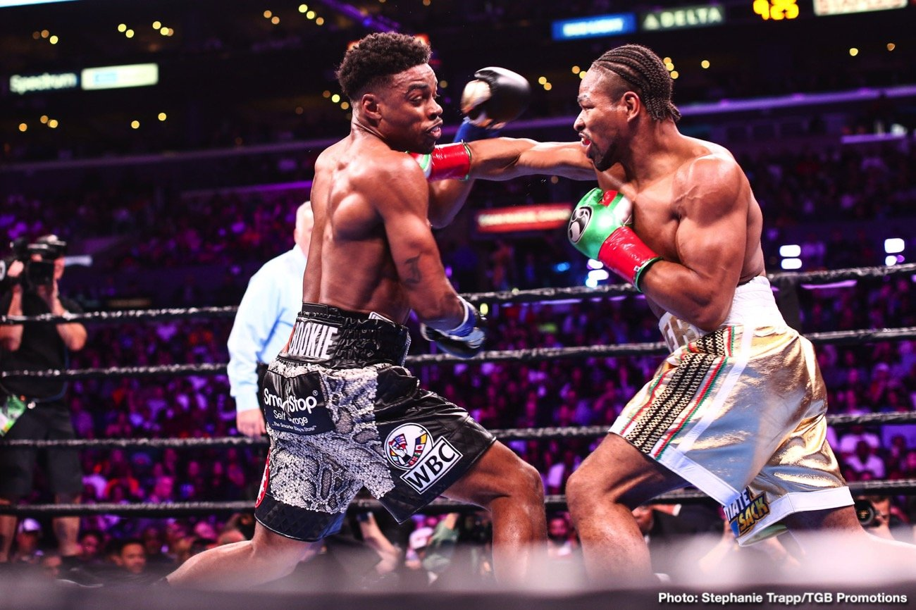 Errol Spence, Shawn Porter - In light of how darn good or great, depending on your opinion, this past Saturday night's welterweight barnstormer between Errol Spence and Shawn Porter was, we fans are hoping to see it again; a rematch - heck, there could even be a trilogy to be made here.