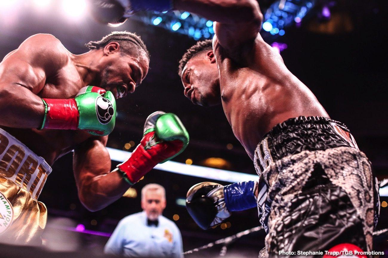 David Benavidez Errol Spence Shawn Porter Boxing News Top Stories Boxing