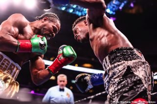 David Benavidez, Errol Spence, Shawn Porter - David H. (Cincinnati, OH): I read your social media post (FB) regarding the Spence vs Porter fight and felt you were pretty tough on Spence's performance. Can you explain your position on the way he performed and how you felt about his effort?