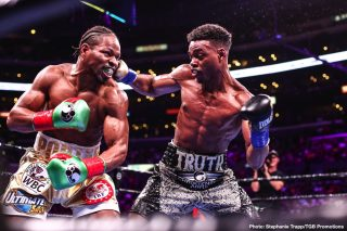 Errol Spence Jr. - Danny Garcia has an excellent shot of beating Errol Spence Jr on November 21 due to the car crash 'The Truth' was recently involved in, according to promoter Lou DiBella. He says Spence's Ferrari Spyder was traveling over 100 mph at the time of his accident on October 10 in Dallas, Texas, and he's not certain if Errol will be the same fighter once was before the crash.