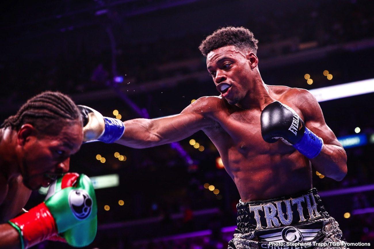 Danny Garcia Errol Spence Boxing News