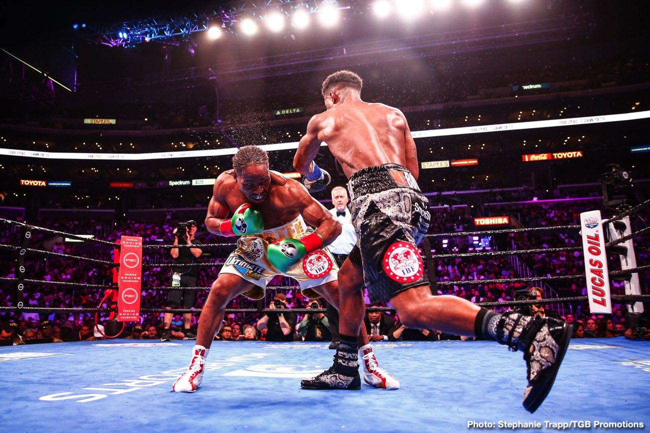 """Danny Garcia, Errol Spence - If he goes ahead and fights Danny Garcia in his November ring return as is the current plan, is Errol Spence making a big mistake? Should """"The Truth,"""" who as we all know was quite badly hurt and shaken up in that nasty car smash of October, take a tune-up bout before going back in with elite welterweights?"""