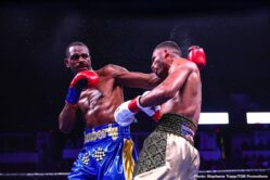 Alfredo Angulo, Peter Quillin - Super middleweight Alfredo Angulo (26-7, 21 KOs) wore down and defeated former WBO 160-lb champion Peter 'Kid Chocolate' Quillin (34-2-1, 23 KOs) by a 10 round split decision on Saturday night at the Rabobank Arena in Bakersfield, California. The scores were 97-93, 96-94 for Angulo, and 96-94 for Quillin.