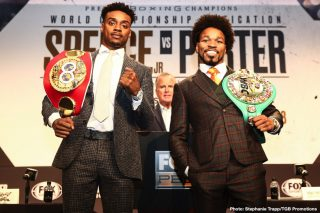 Errol Spence, Shawn Porter - Do you feel this Saturday night's two-belt welterweight title fight unification between the unbeaten Errol Spence and the never stopped (in the eyes of plenty of fans, this one included, never truly defeated) Shawn Porter is not really getting, and has not got enough, hype, attention and fanfare?