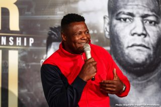 "Fox Sports PPV - Luis Ortiz is accusing WBC heavyweight champion Deontay Wilder of using ""illegal"" and ""borderline criminal"" tactics during his fights. He's hoping that Wilder (41-0-1, 40 KOs) doesn't use those tactics when they face each other in a rematch on November 23 on Fox Sports PPV from the MGM Grand in Las Vegas, Nevada."