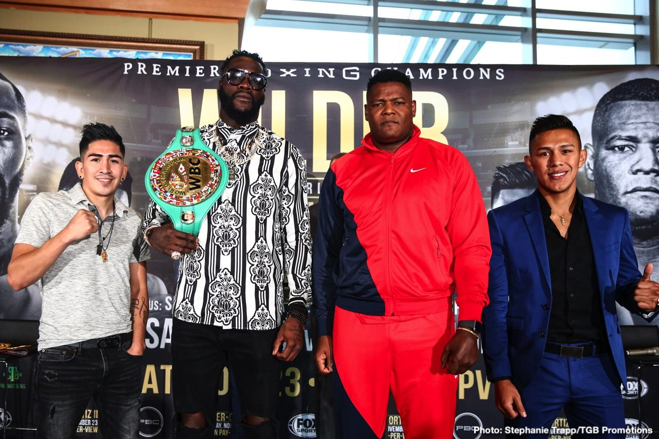 Deontay Wilder Luis Ortiz Sky Sports Boxing News British Boxing