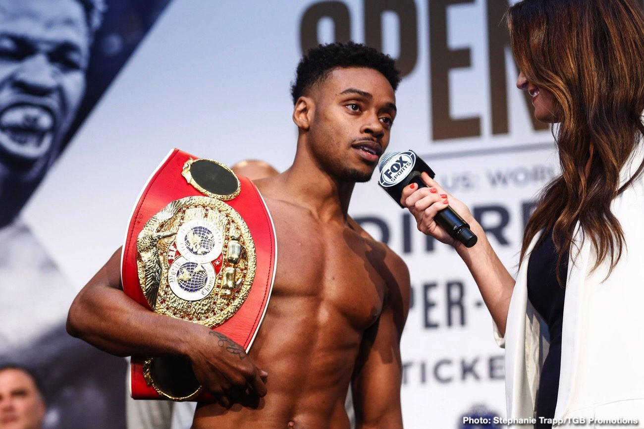 Danny Garcia, Errol Spence - IBF/WBC welterweight champion Errol 'The Truth' Spence Jr (26-0, 21 KO) will be defending his titles against Danny 'Swift' Garcia (36-2, 21 KOs) on November 21 on Fox PPV at a still to be determined venue. Spence reported the news of his much-talked-about fight against Garcia earlier on Friday, and he's excited about this match-up.
