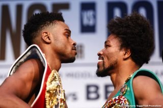 Fox Sports PPV - Former unified welterweight champion Keith Thurman says Shawn Porter must take a lot of chances against Errol Spence Jr. to pull off the upset on Saturday night when these two 147-lb world champion fight at the Staples Center in Los Angeles, California.