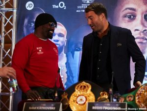 Ricky Burns - Derek Chisora - I'm bringing war, I'm not playing. This is my show. Boxing is thriving because of the Heavyweights. Mike Tyson said it when AJ knocked out Klitschko, the money is back in the division. I want more money if I'm not headlining the show!