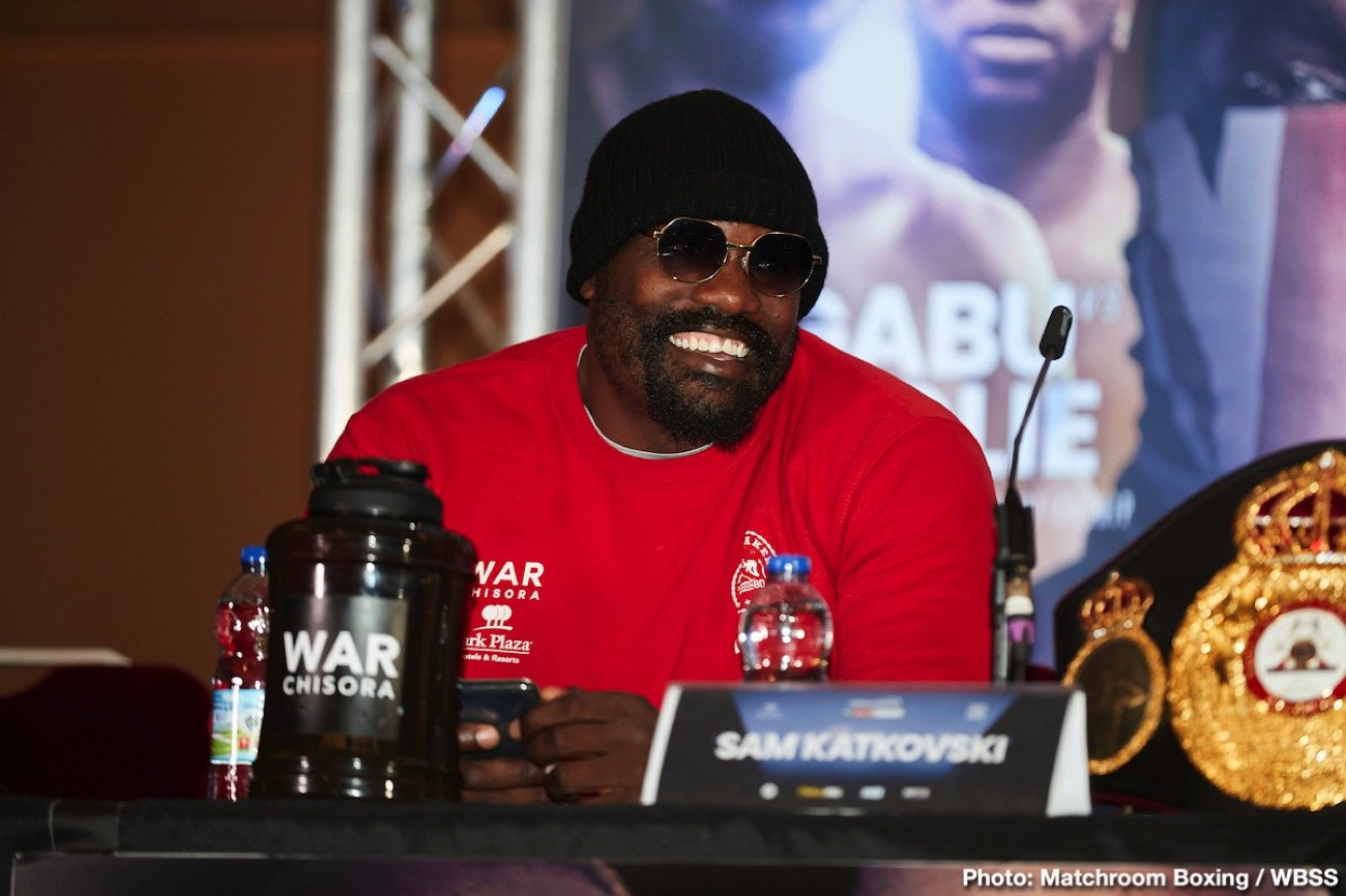 Sky Sports Box Office - Heavyweights Dereck Chisora and Joseph Parker recently met for their Face to Face to discuss their match next month on Sky Box Office and DAZN on October 26 at the O2 Arena in London, England.