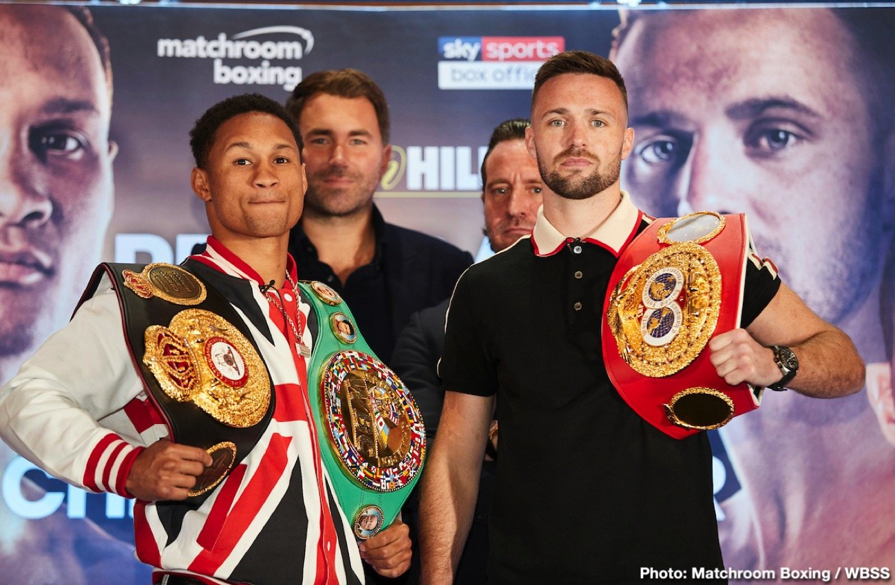 Josh Taylor - USA's Regis Prograis (24-0, 20 KOs) and Scotland's Josh Taylor (15-0, 13 KOs) met on Monday in England's capital at an intense kickoff press conference ahead of their highly anticipated WBSS Super-Lightweight Ali Trophy Final at The O2 in London on October 26, live on Sky Sports Box Office in the UK and DAZN in the U.S.