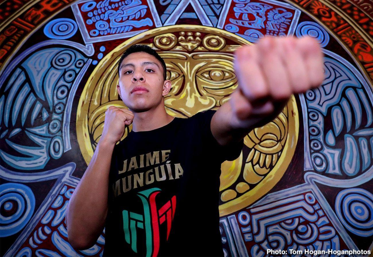 Jaime Munguia Patrick Allotey Romero Duno Ryan Garcia Boxing News