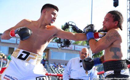 Franchon Crews Dezurn Jaime Munguia Maricela Cornejo Patrick Allotey Boxing News Boxing Results Top Stories Boxing