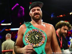 Carlos Cuadras, Emanuel Navarrete, Jose Pedraza, Jose Zepeda, Juan Miguel Elorde, Otto Wallin, Tyson Fury - Tyson Fury overcame a terrible cut and a stiff challenge from Otto Wallin to successfully defend his lineal heavyweight title via unanimous decision (116-112, 117-111, 118-110) in front of 8,249 fans at T-Mobile Arena Saturday evening.