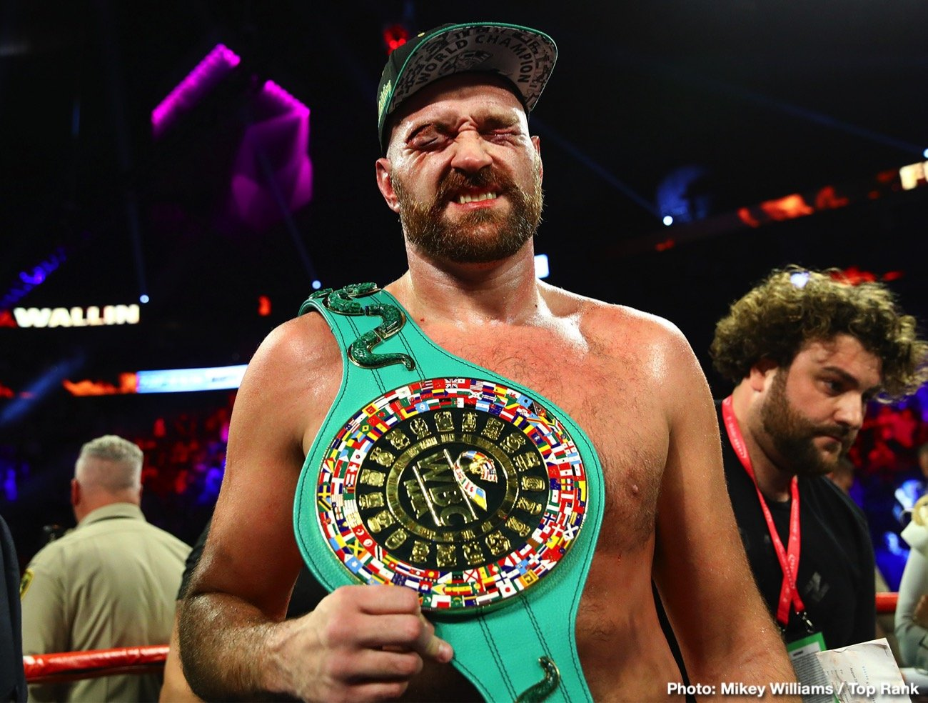 """Tyson Fury - There is no doubt about it, Tyson Fury has a lot going on right now: WWE (his debut to come on October 31st in Saudi Arabia), a Christmas single with pop star Robbie Wiliams, his soon to be released autobiography, entitled """"Behind The Mask,"""" living life out in L.A. But in terms of boxing, Fury has perhaps lost interest. This is the opinion of promoter Eddie Hearn, who told IFL TV over the weekend how he feels Fury has """"lost heart,"""" and is """"packing up boxing."""""""