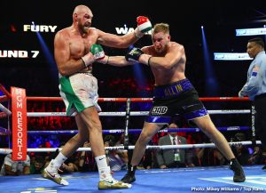 "Otto Wallin - Hearing reports that WBC and Lineal Heavyweight Champion Tyson Fury is looking for a December 2020 opponent, Sweden's IBF #14-ranked Otto Wallin (21-1, 14 KOs) says that he's the rightful choice for a rematch against the ""Gypsy King."""