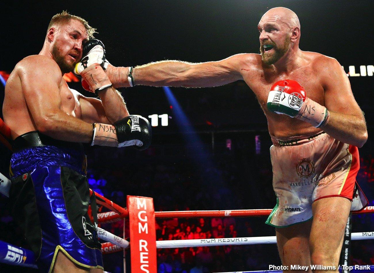 Dillian Whyte, Otto Wallin - Boxing News