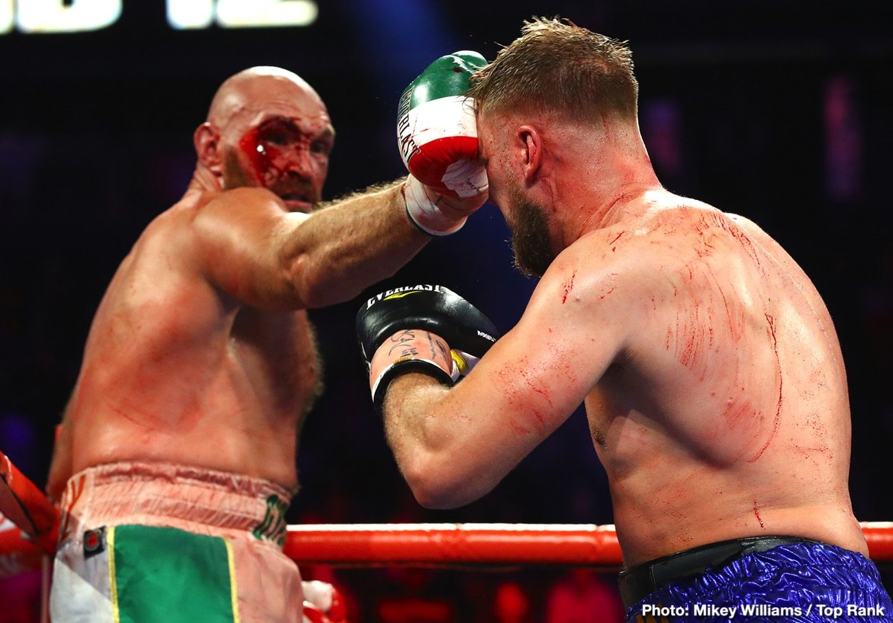 Jorge Capetillo Otto Wallin Tyson Fury Boxing News