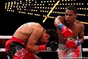 Sergey Kuzmin - Devin Haney produced a scintillating display in dismantling Zaur Abdullaev in four rounds to land become the interim WBC World Lightweight champion at the Hulu Theater at Madison Square Garden in New York, live on DAZN in the US and on Sky Sports in the UK.