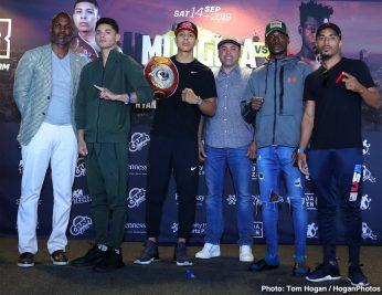 Avery Sparrow Jaime Munguia Patrick Allotey Ryan Garcia Boxing News