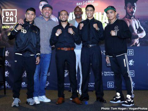 Avery Sparrow, Jaime Munguia, Patrick Allotey, Ryan Garcia - Boxing News