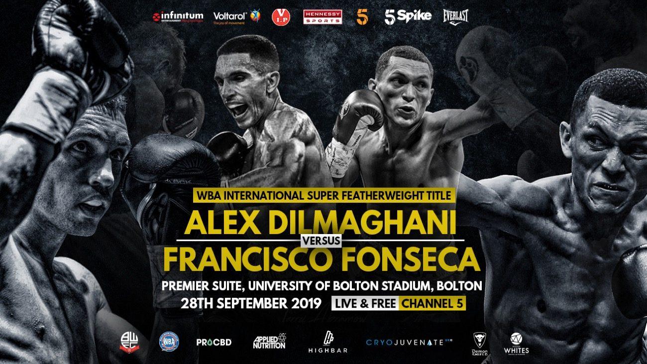 Alex Dilmaghani British Boxing Press Room