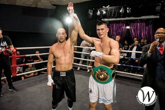 Aaron Lai, Reagan Dessaix - Reagan Dessaix continued to show why he is far beyond his years as he dispatched of Aaron Lai in the fourth round of their OBPF Light Heavyweight title fight at the Paddo Rugby League Club, Paddington last weekend.