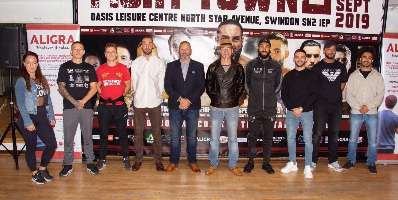 Luke Watkins British Boxing Press Room
