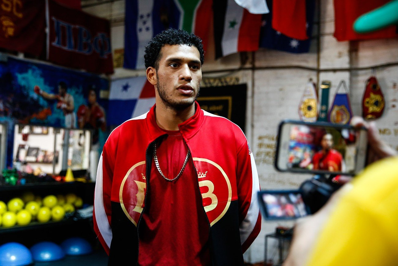 "Undefeated former world champion David ""El Bandera Roja"" Benavidez and exciting veteran contenders Josesito ""The Riverside Rocky"" Lopez and John Molina Jr. all took part in a Los Angeles media workout on Thursday as they near their respective showdowns Saturday, September 28 as part of the FOX Sports PBC Pay-Per-View headlined by Errol Spence Jr. vs. Shawn Porter from STAPLES Center in Los Angeles."