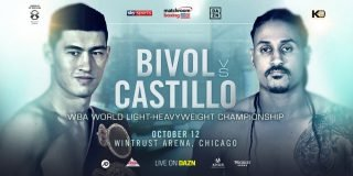 Dmitry Bivol - Dmitry Bivol will defend his WBA World Light-Heavyweight title against Lenin Castillo at the Wintrust Arena in Chicago on Saturday October 12, live on DAZN in the US and on Sky Sports in the UK.