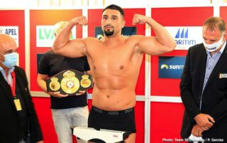 """Peter Kadiru - Live boxing is back on ESPN+ Saturday, July 18, with the return of undefeated heavyweight contender Agit Kabayel in a 10-rounder against Evgenios """"Achilles"""" Lazaridis from Seebühne Elbauenpark in Magdeburg, Germany."""