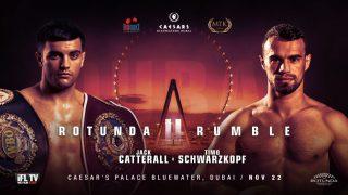 Jack Catterall - WBO world No. 1 Jack Catterall will take on former EBU European Union super-lightweight champion Timo Schwarzkopf in Dubai on November 22.