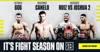 Gennady Golovkin - DAZN Unveils Fall Boxing Schedule - New Ad Spot Highlights the Sports Streaming Platform's Impressive Lineup of Fights This Fall and Debuts During Sunday Night Football.