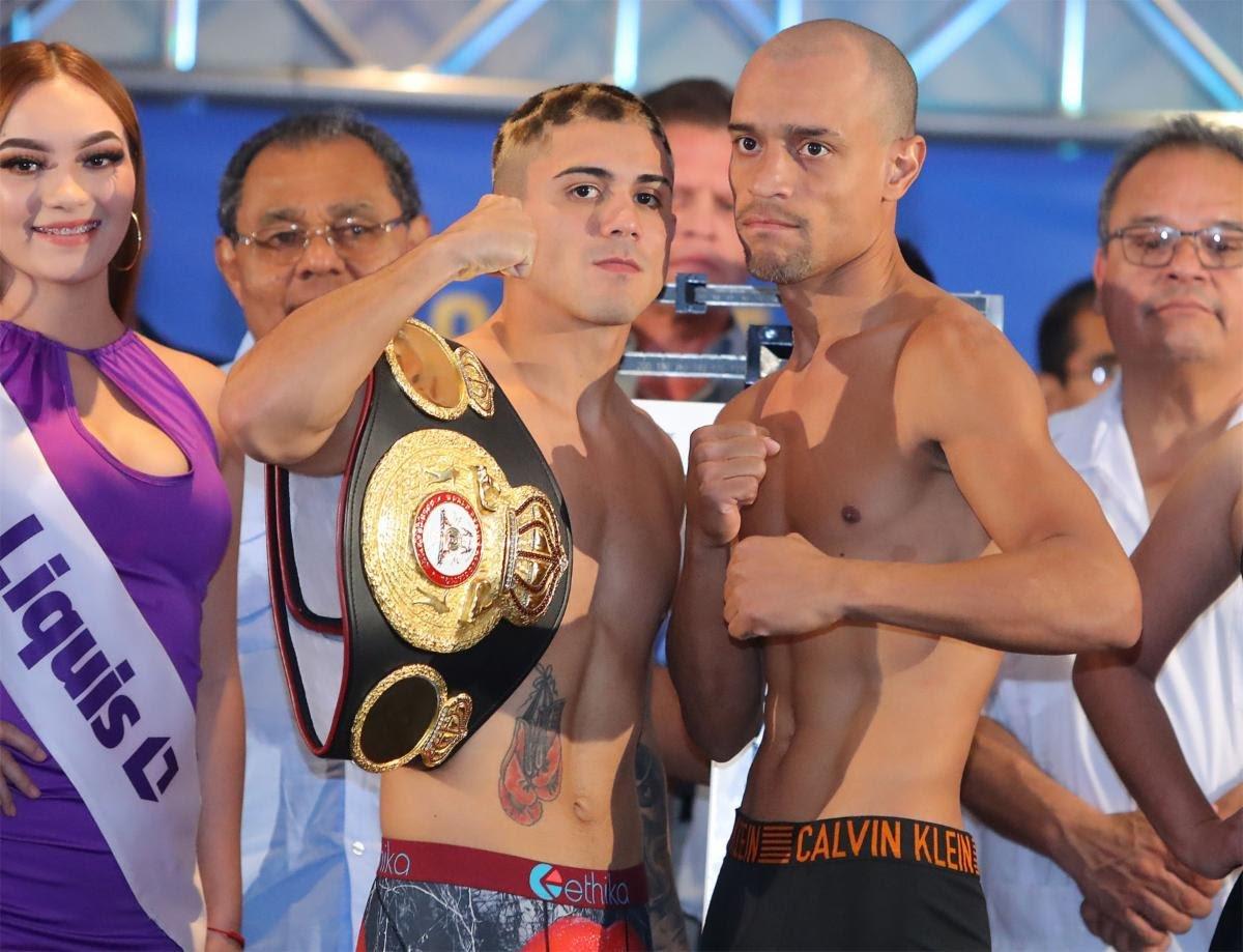 Jesus Cuadro Joseph Diaz Boxing News Boxing Results