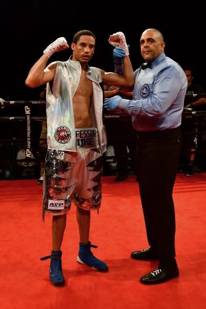 Eudy Bernardo - WBA number-15 ranked junior welterweight contender Mykal Fox kept on the path towards a major fight with a 10-round unanimous decision over Eudy Bernardo in the main event of an exciting nine-bout card at The Wind Creek Event Center in Bethlehem, Pa.
