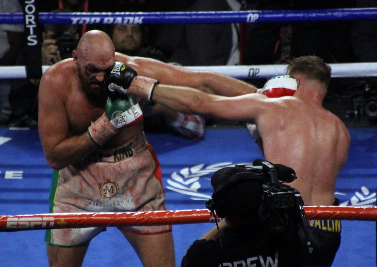 Otto Wallin Tyson Fury Boxing News Boxing Results
