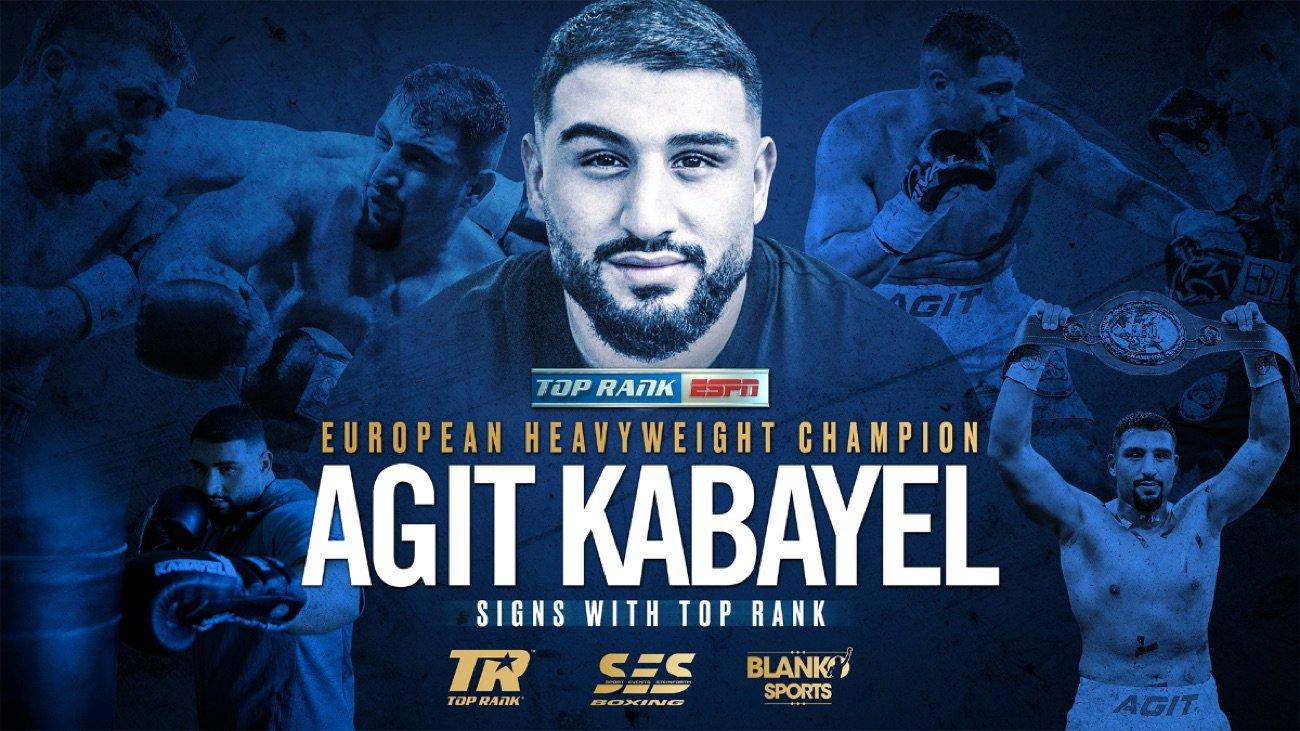 European heavyweight kingpin Agit Kabayel is coming to America.
