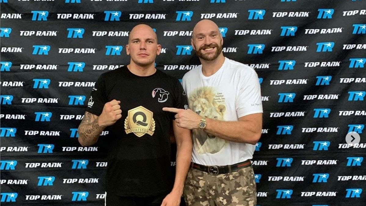 Otto Wallin - Danish heavyweight hope Kem Ljungquist (9-0, 5 KOs) has returned home full of ambition following a five-week training camp in Las Vegas with Tyson Fury.