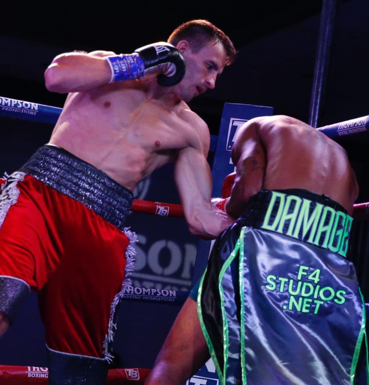 "Dedrick Bell, Petr Petrov - Lightweight contender Petr Petrov (41-6-2, 22 KOs) disposed of the overmatched Dedrick Bell (23-31-1, 11 KOs) in two rounds during Thompson Boxing's ""Locked n' Loaded"" main event on Friday night."