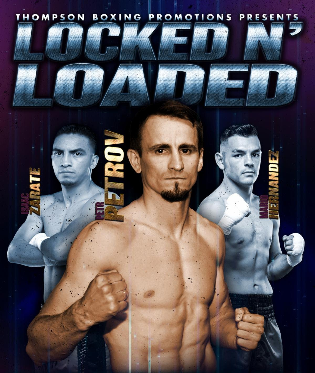 "Dedrick Bell, Petr Petrov - In a chaotic turn of events, former lightweight contender Petr Petrov (40-6-2, 21 KOs) is back on Thompson Boxing's ""Locked n' Loaded"" main event scheduled for this Friday, Sept. 20, from the Doubletree Hotel in Ontario, Calif."