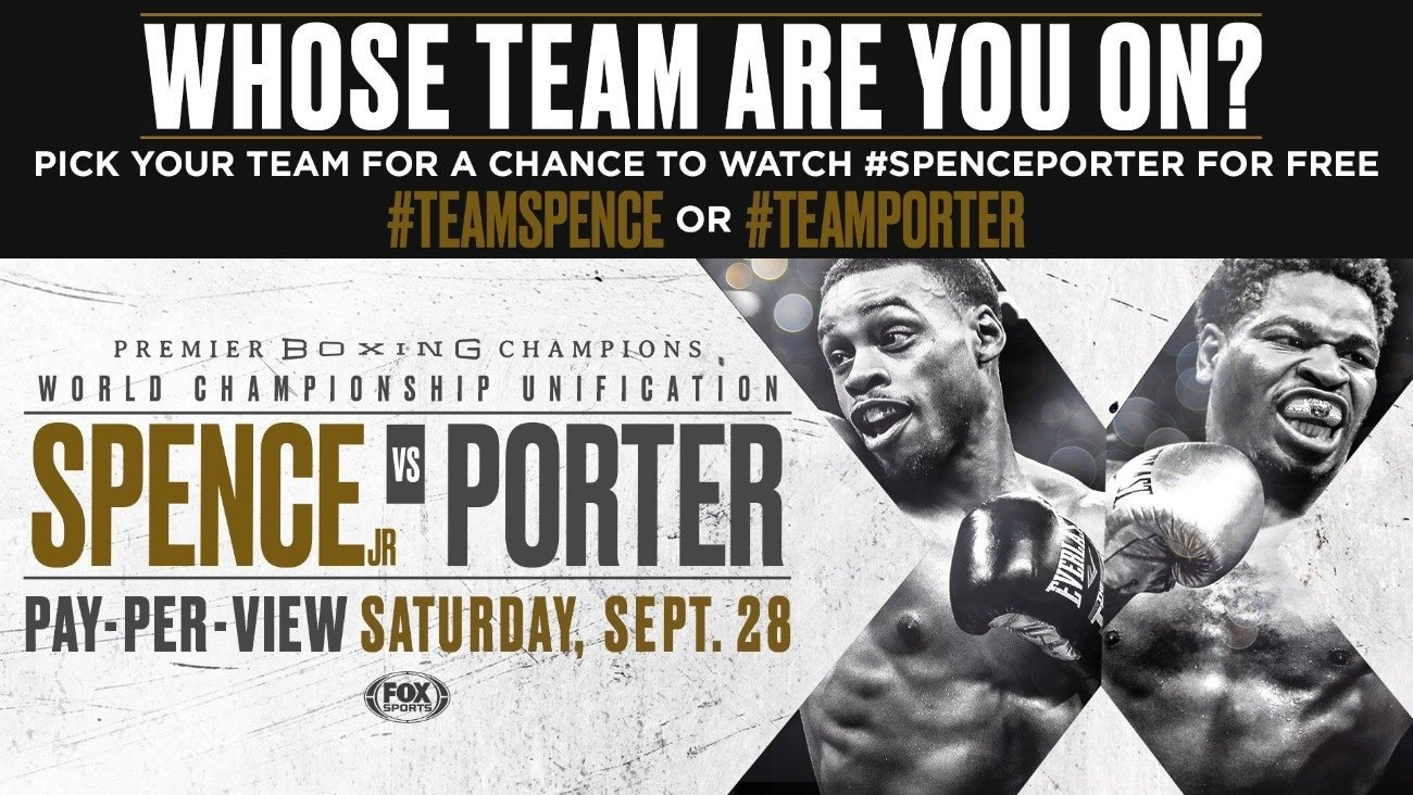 Errol Spence Shawn Porter Boxing Interviews Boxing News