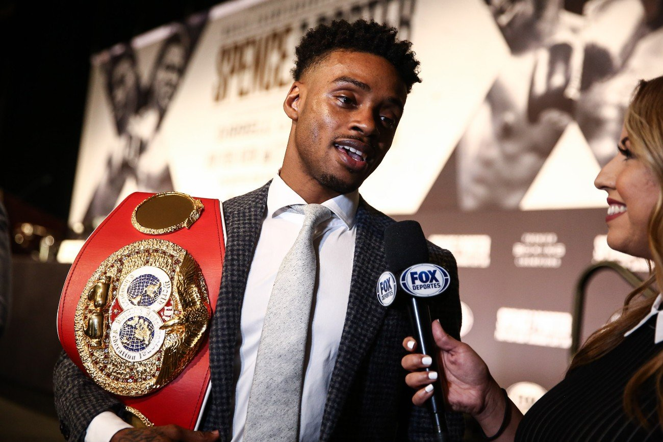 """Danny Garcia, Errol Spence - Errol Spence Reveals He Went Up To 192 Pounds After Car Crash, Says Getting Back In Shape """"The Toughest Part"""""""