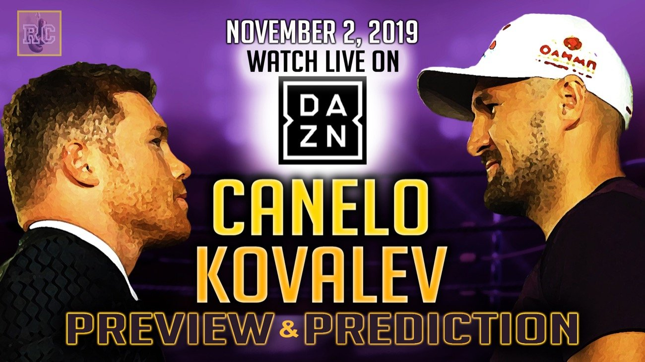 Sergey Kovalev - Coming up on November 2, 2019 at the MGM Grand in Las Vegas, Nevada - boxing superstar Canelo Alvarez will venture north to challenge Sergey Kovalev for his WBO light heavyweight championship. This mighty intriguing contest will be broadcast in the United States by the relatively new streaming app service known as DAZN.