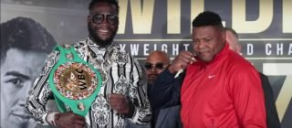 Deontay Wilder, Fox Sports PPV, Leo Santa Cruz, Luis Ortiz, Miguel Flores - Luis Ortiz is planning on making sure he finishes the job when he hurts WBC heavyweight champion Deontay Wilder in their rematch on November 23 at the MGM Grand Garden Arena in Las Vegas, Nevada.