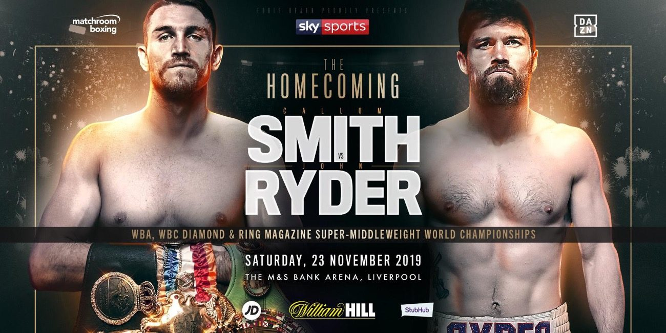 Callum Smith John Ryder Boxing News British Boxing